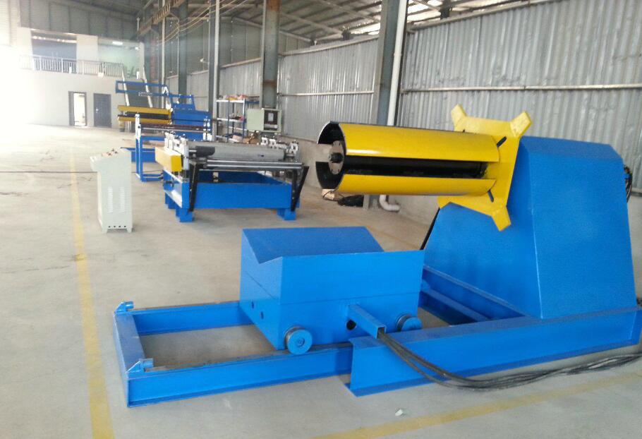 Pipe welding equipment, cutting steel coil production line, galvanizing production line, metal parts processing