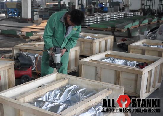 Упаковка и хранение прокатных валков для трубосварочных станов