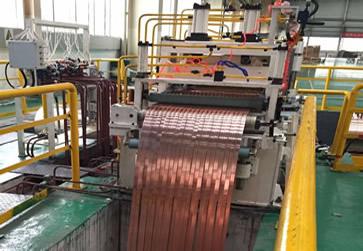 Линия продольной резки рулонного металла толщиной 0,3…3,0мм АЛЛСТАН ДАЛЯНЬ