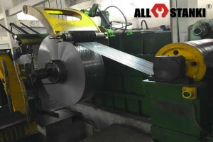 Линия для производства стальной упаковочной ленты