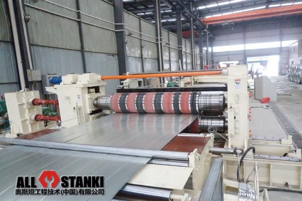 Линия продольной резки плоского рулонного металла толщиной 0,3-2,0 мм и шириной до 2000 мм