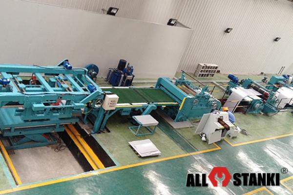 3x1600 Оборудование для поперечной резки стальной полосы